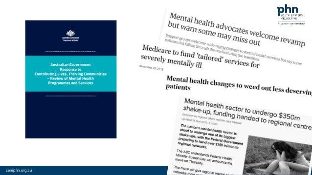 better mental health care
