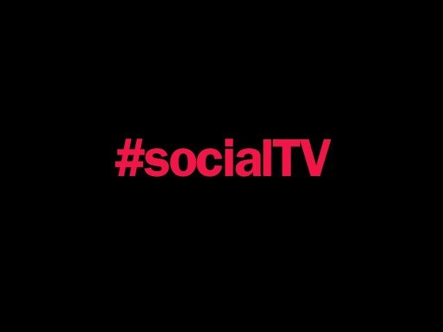 #socialTV