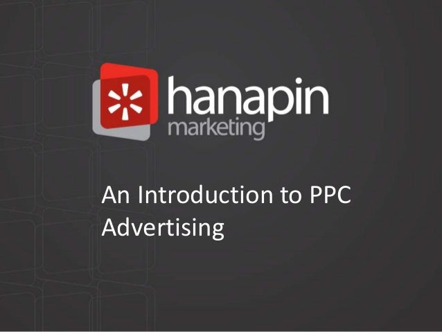 An Introduction to PPC Advertising