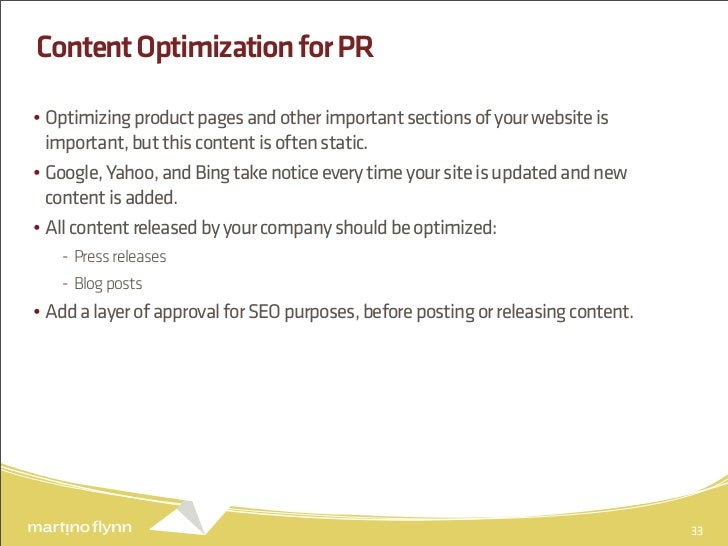 Keeping Content Searchable In Google's World slideshare - 웹