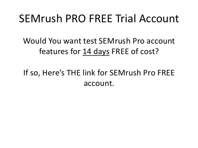 how to cancel semrush trial