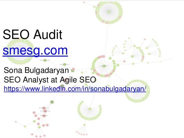 SEO Audit smesg.com Sona Bulgadaryan SEO Analyst at Agile SEO https://www.linkedin.com/in/sonabulgadaryan/