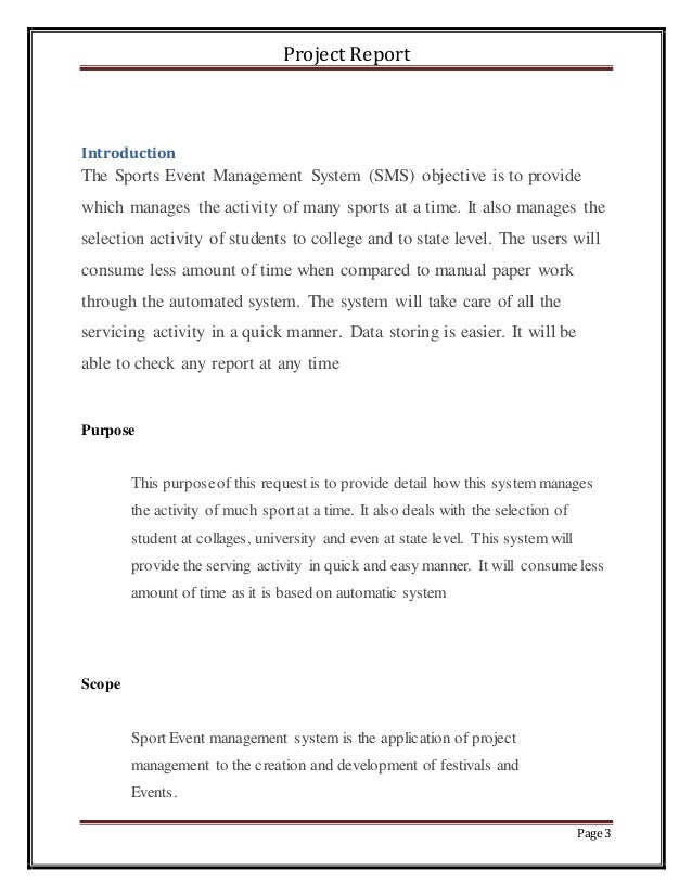 report writing manual