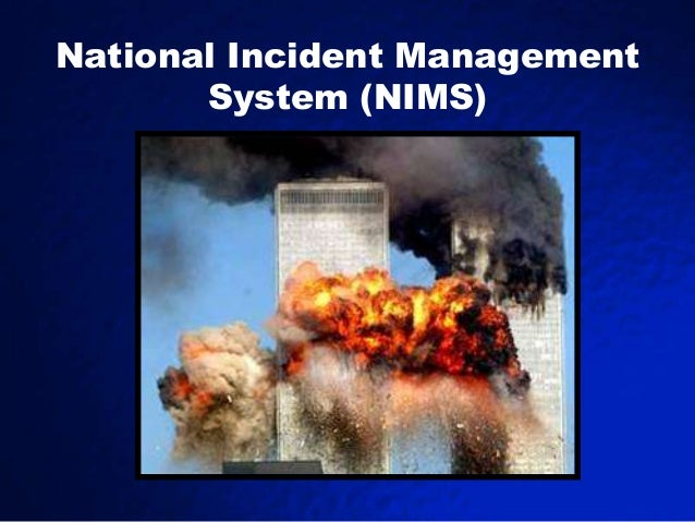 "a description of national incident management system nims as an approach to incident management ""nims"" means the national incident management system v responsibilities a   facilitating the definition of general training requirements and the development  of  of the nims and its major components utilizing an integrated approach."