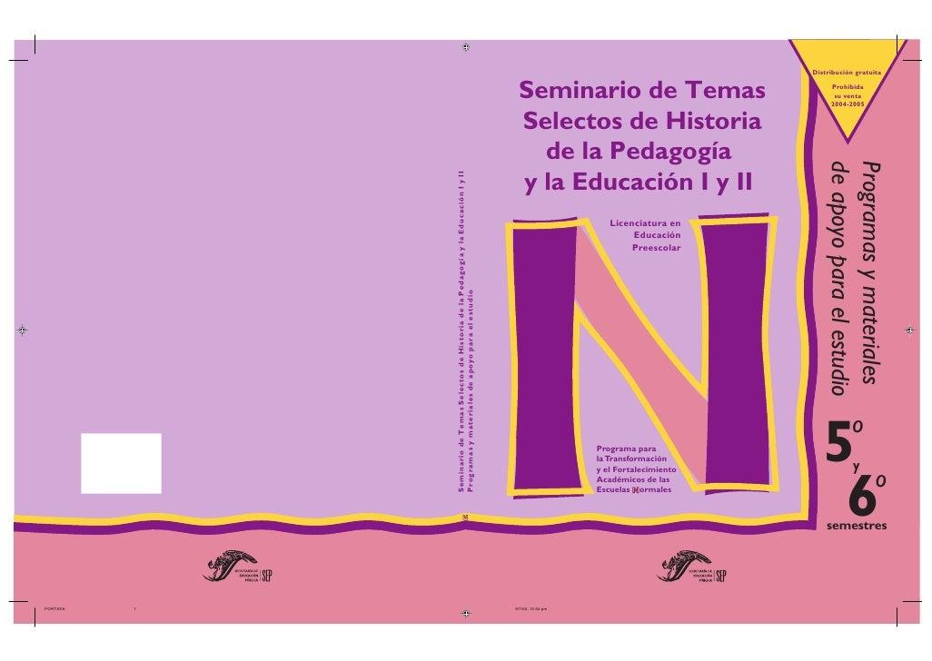 Distribución gratuita   Seminario de Temas                 Prohibida                                     su venta         ...