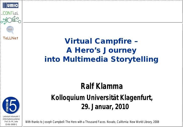 TeLLNet                                              Virtual Campfire –                                               A He...