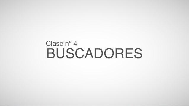 Clase nº 4  BUSCBAADICORES