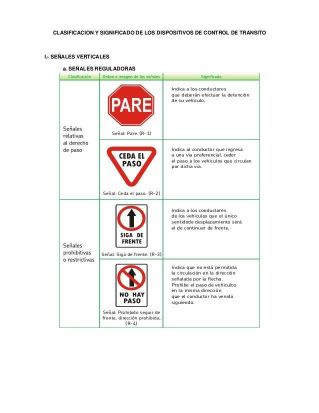 Indica a los conductores que deberán efectuar la detención de su vehículo. Señal: Pare. (R-1) Indica al conductor que ingr...