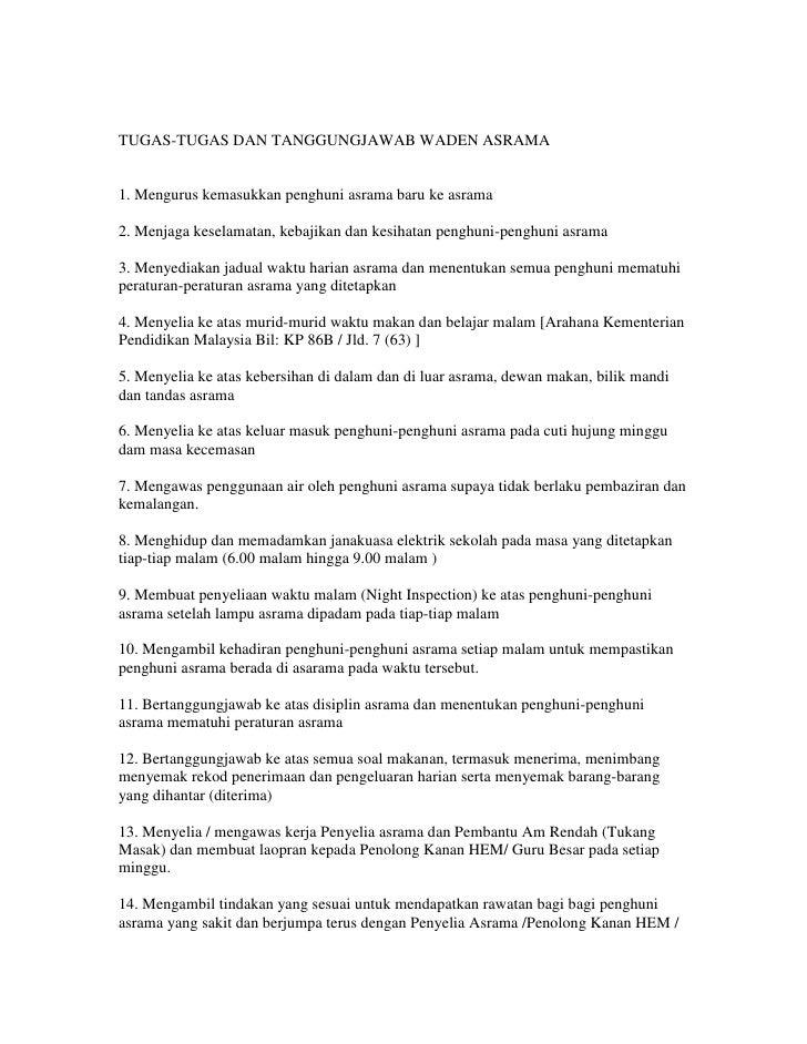 Senarai Tugas Pembantu Rumah Ilmusosial Id
