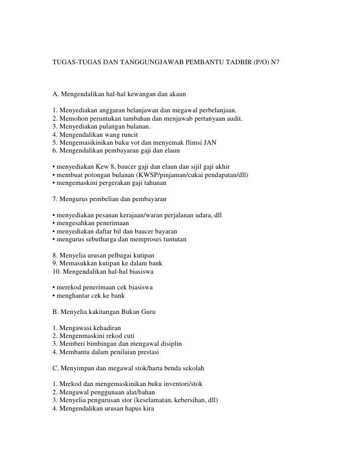 Contoh Soalan Pembantu Tadbir Perkeranian Operasi N19 U Soalan