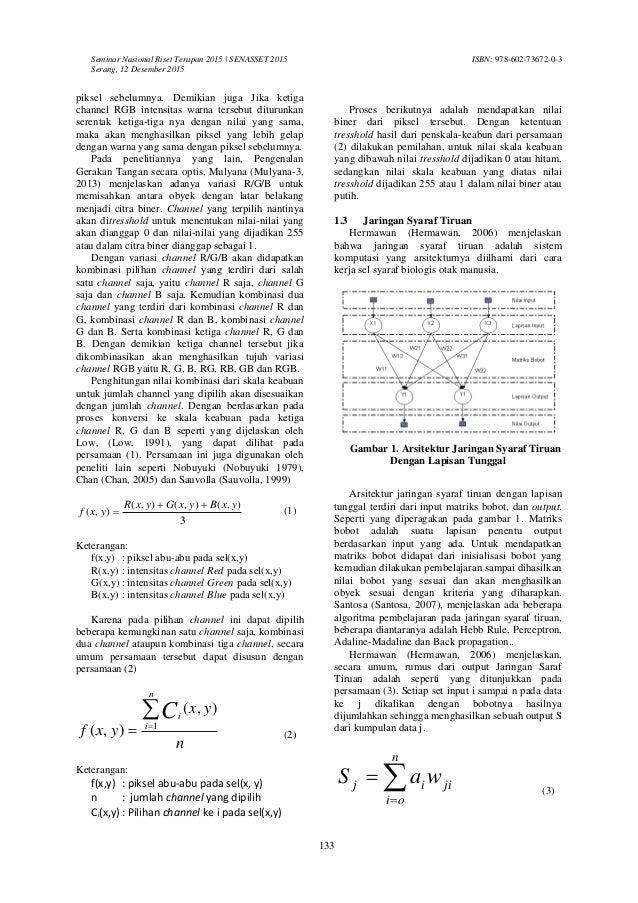 Contoh Jurnal Algoritma Perceptron - Simak Gambar Berikut