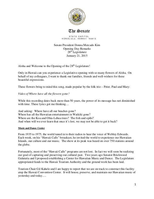 Lyric beautiful in white lyrics download : Senate President Opening Day Speech