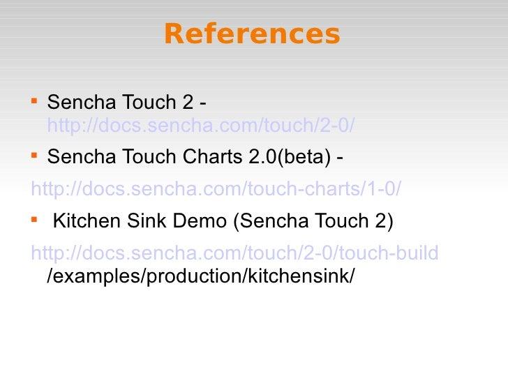 Sencha Touch Charts