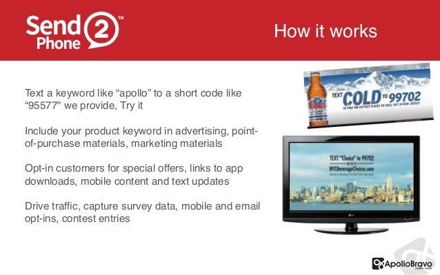 Send 2-phone text message marketing Slide 3