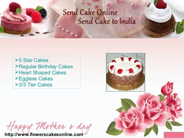 Mothers Day Cake Order Online India Delivery Birthday Send To