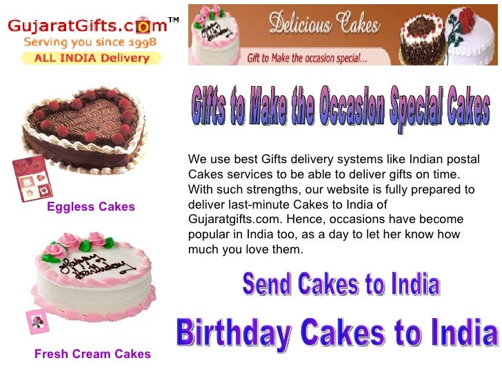 Send Cakes To India Online For Birthday