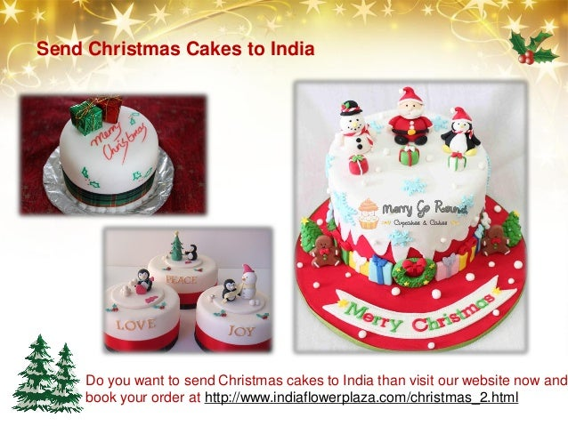 Cakes for christmas online gifts