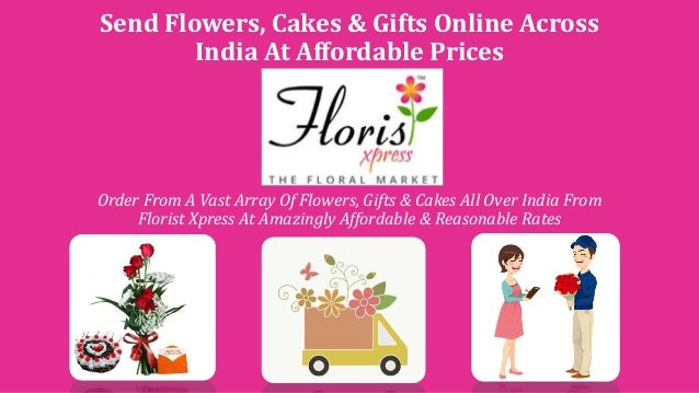 Send Wedding Gifts Online India: Send Flowers, Gifts And Cakes Online Across India At