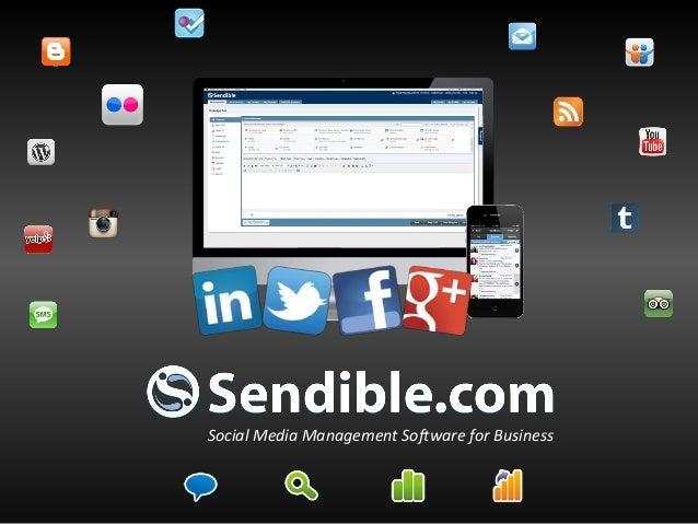 Social Media Management Software for Business