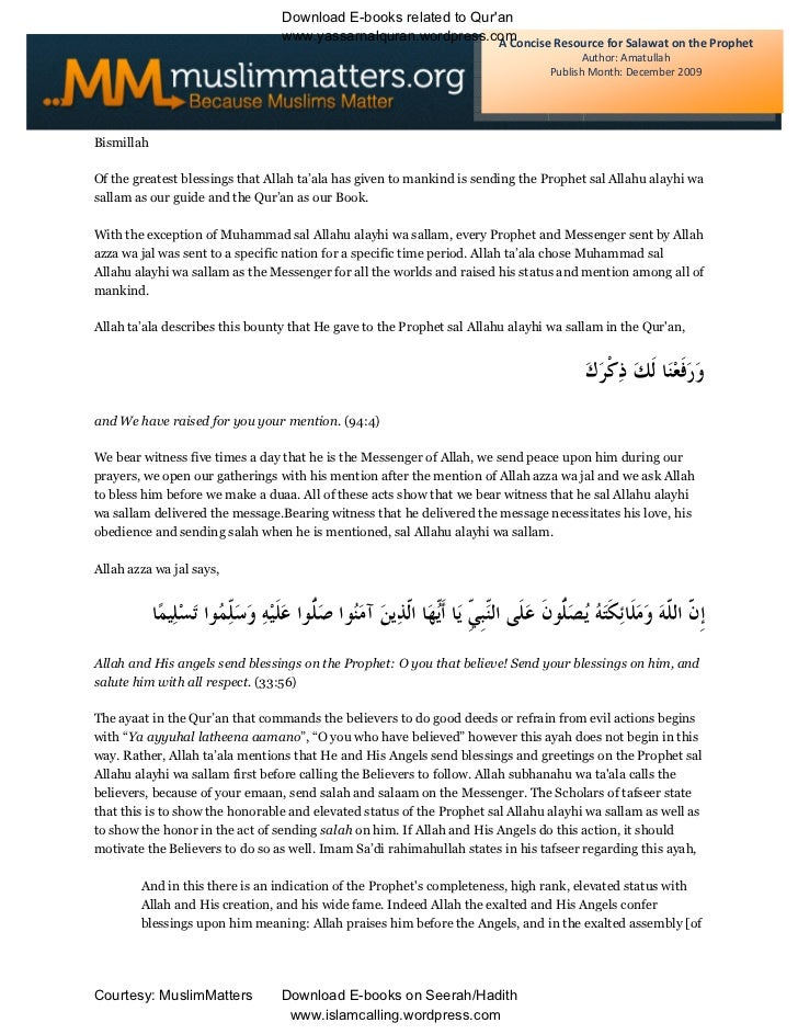 Download E-books related to Quran                                 www.yassarnalquran.wordpress.comA Concise Resource for S...