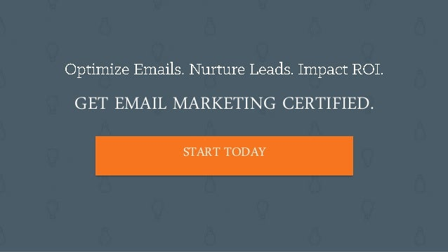 Class 2 Email Marketing Certification course: Sending the Right Message with Lifecycle Marketing