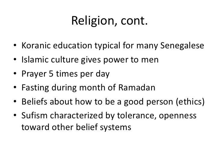 Senegal presentation
