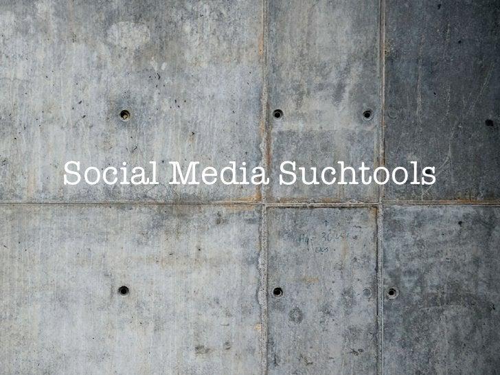 Social Media Suchtools