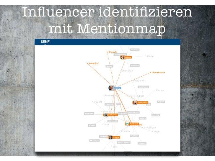Influencer identifizieren    mit Mentionmap