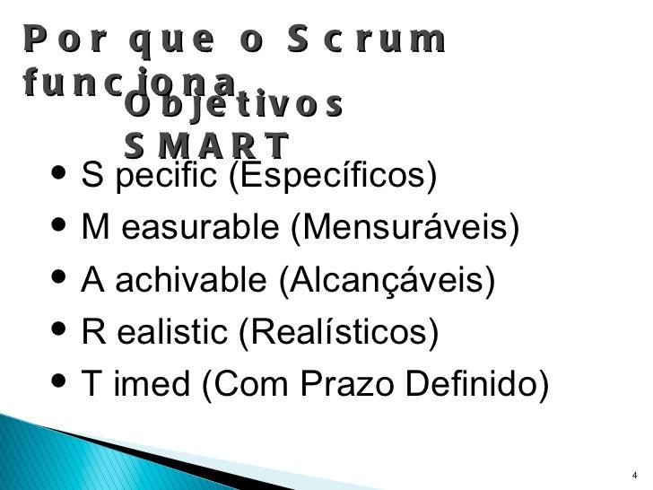 Objetivos SMART <ul><li>S pecific (Específicos) </li></ul><ul><li>M easurable (Mensuráveis) </li></ul><ul><li>A achivable ...
