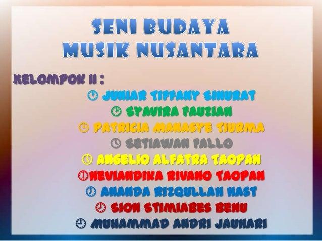 Kelompok II :  Juniar Tiffany Sinurat  Syavira Fauziah  Patricia Manasye Tiurma  Setiawan Fallo  Angelio Alfatra Taop...
