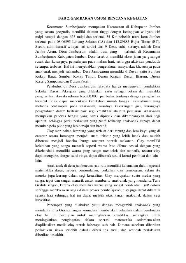 BAB 3. METODE PELAKSANAAN 3.1 Teknik Penyuluhan Penyuluhan telah dilakukan kepada perangkat desa, pihak sekolah SDN 1 Jamb...