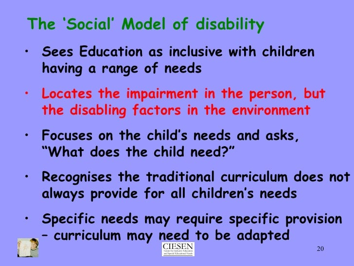 essay on disability and education Free essay: in reading chapter 8 on intellectual disabilities, i found that the field of intellectual disabilities has developed throughout the years the.