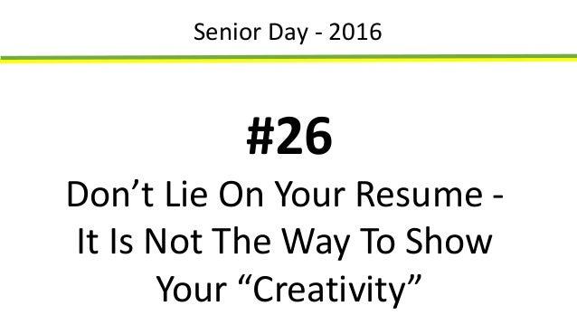 senior day for posting
