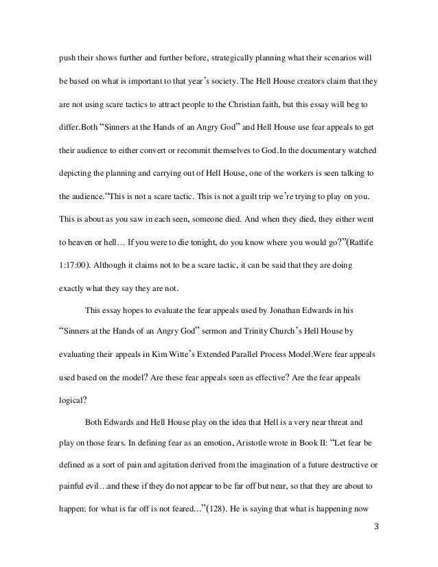 Sinners in the hands of an angry god essay order an essay