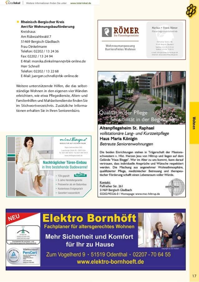 seniorenwegweiser bergisch gladbach 2014. Black Bedroom Furniture Sets. Home Design Ideas