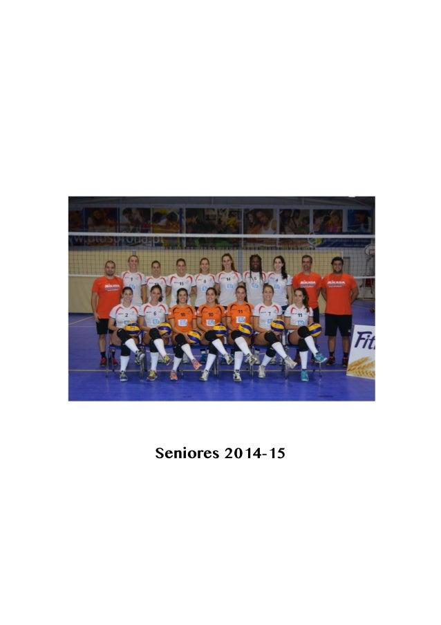 Seniores 2014-15