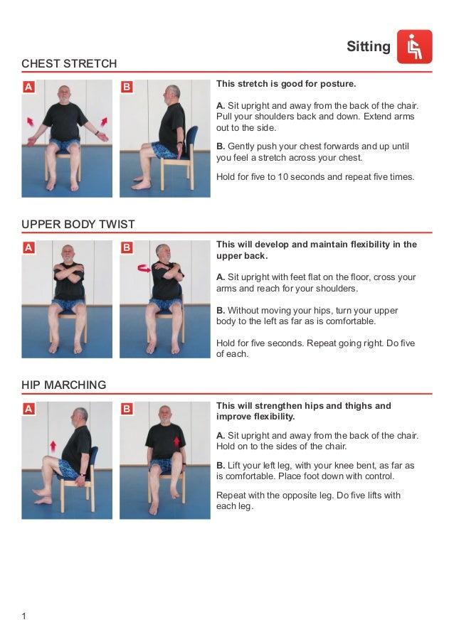 safe yet healthy exercises for seniors