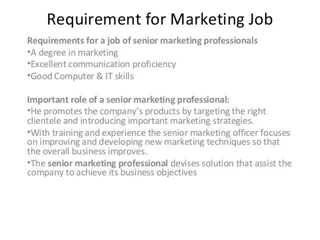 Senior Marketing & HR Jobs in India