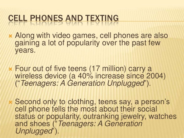 the effects of technology on youth Technology has been very succesful and many positive outcomes have come from it, there have also been negative effects due to technology specifically towards today's youth.