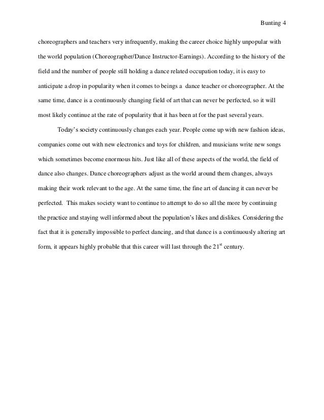 senior project research paper which happens to 4