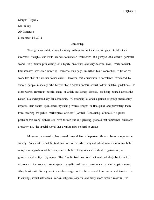literary research paper sample