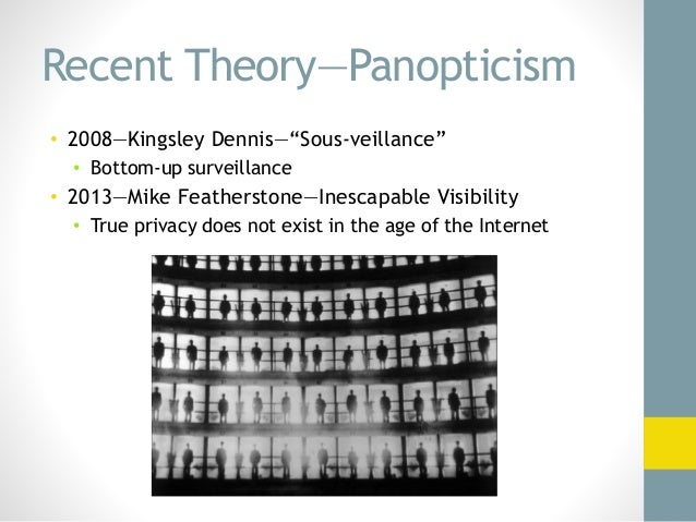 michael foucaults panopticism Read this miscellaneous essay and over 88,000 other research documents michel foucault's panopticism in michael foiucault's panopticism he breaks.