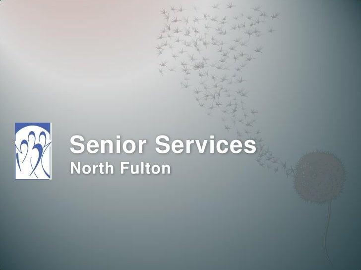 Senior Services North Fulton