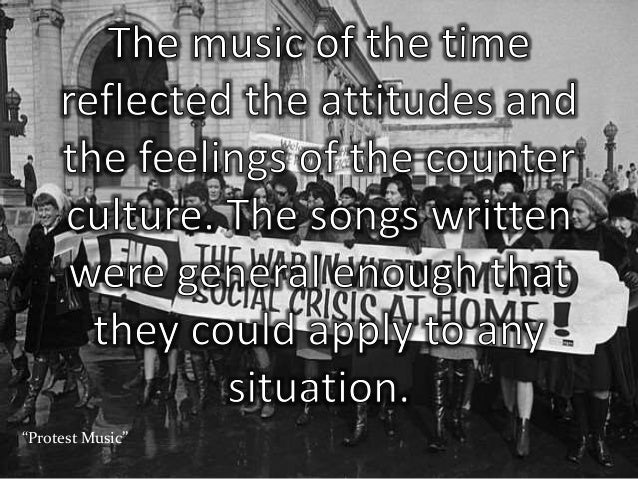 war protest and modern music Not only has music been a direct means of anti-war protest,  protest and rock n' roll during the vietnam war  modern.