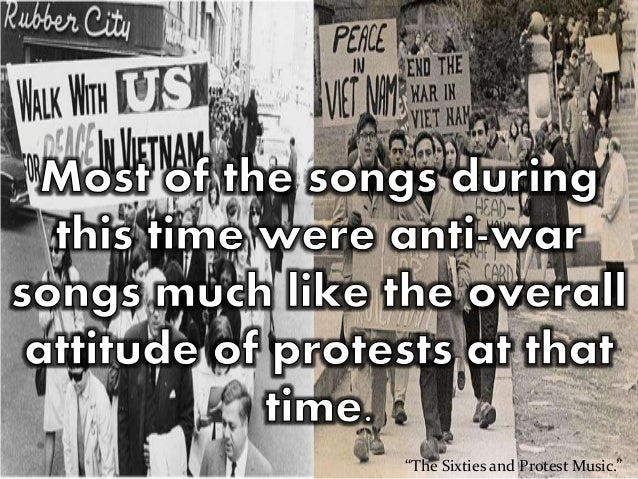 Thesis on protest songs