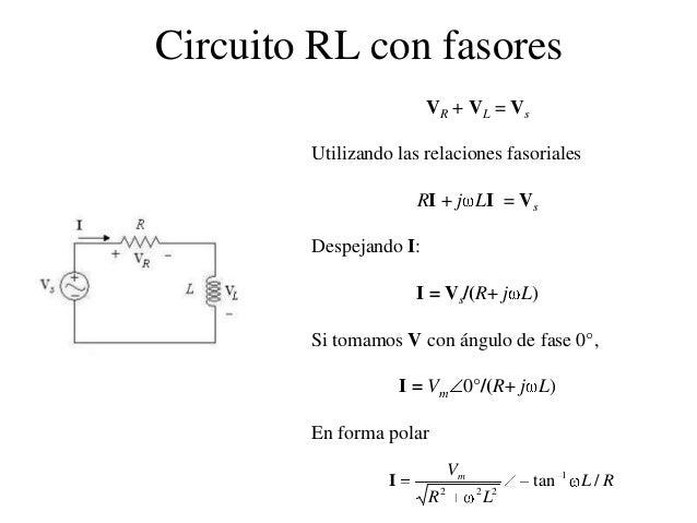 Circuito Rl : Senoides y fasores presentacion ppt