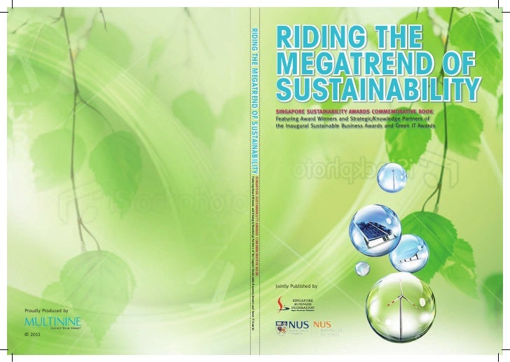 RIDING THE                      RIDING THE MEGATREND OF SUSTAINABILITY                                                    ...