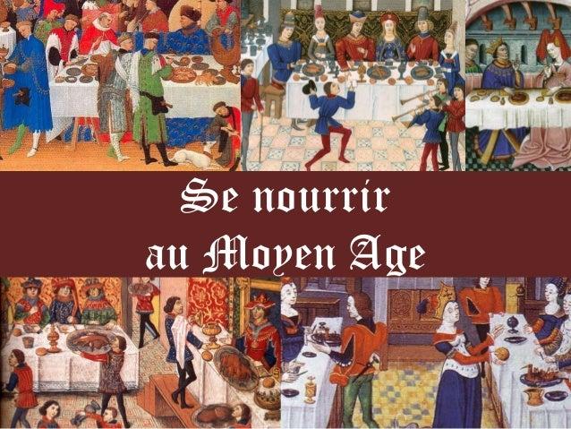 Se nourrir au Moyen Age