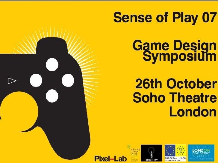A Game Design Symposium