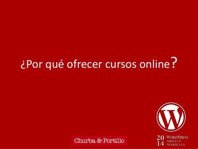 Montar un negocio de formación online con WordPress + Sensei Slide 3